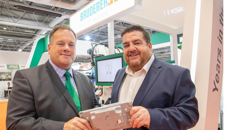 Bruderer UK seals 'Clamason' deal at MACH 2018