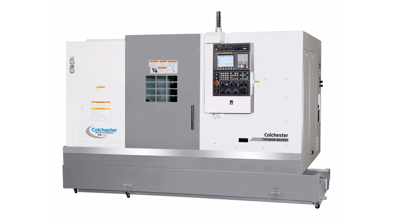 Colchester Machine Tool Solutions launch next generation of Typhoon CNC Turning Centres at MACH 2018