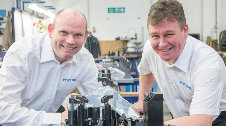 Workholding in the spotlight as Hyfore heads to MACH 2018